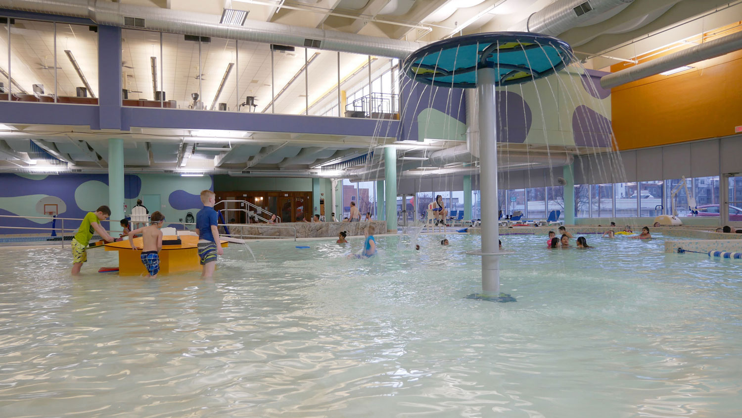 Indoor Pools City Of Overland Park Kansas